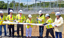 Ribbon Cutting: National Grid Substation